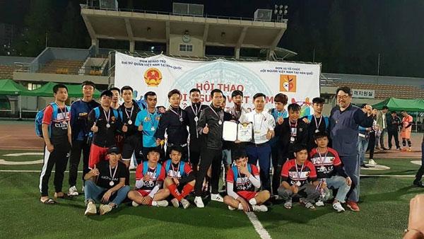 Hội thao Hội người Việt tại Hàn Quốc lần thứ hai
