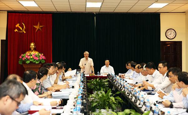 Tiểu ban Văn kiện Đại hội XIII làm việc với Bộ Ngoại giao