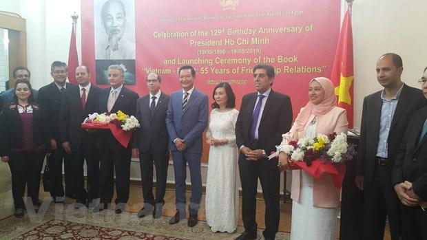 Kỷ niệm 129 năm ngày sinh Chủ tịch Hồ Chí Minh tại Ai Cập