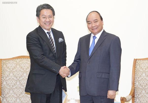 Thủ tướng tiếp Thống đốc Ngân hàng Hợp tác quốc tế Nhật Bản