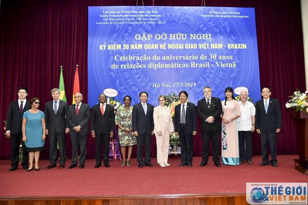 Kỷ niệm 30 năm ngày thiết lập quan hệ ngoại giao Việt Nam - Brazil