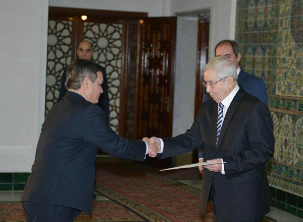 Đại sứ Việt Nam tại Algieria trình Thư Ủy nhiệm