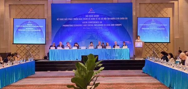 Diễn đàn ASEM nhất trí tăng cường phối hợp thúc đẩy phát triển bao trùm kinh tế xã hội tại châu Á và châu Âu
