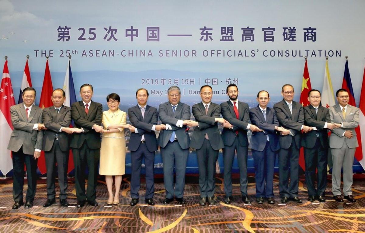 Việt Nam tham dự hội nghị tham vấn cấp cao ASEAN-Trung Quốc