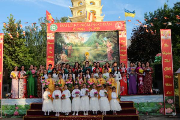 Đại lễ kỷ niệm Phật Đản Phật lịch 2563 – Dương lịch 2019 tại chùa Trúc Lâm, Ucraina