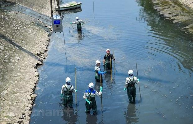 Công nghệ làm sạch sông Tô Lịch:Người dân Hà Nội hồi hộp chờ kết quả