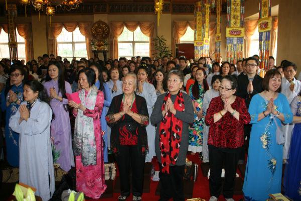Đại Lễ Phật Đản tại Chùa Từ Đàm, Vương quốc Anh