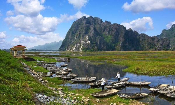 Đầm Vân Long (Ninh Bình) là khu Ramsar thứ 9 của Việt Nam