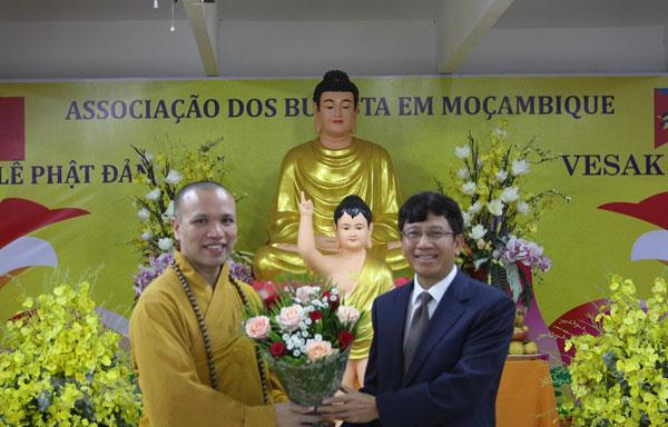 Lễ Phật đản 2019 - Cầu nối văn hóa Việt Nam và Mozambique