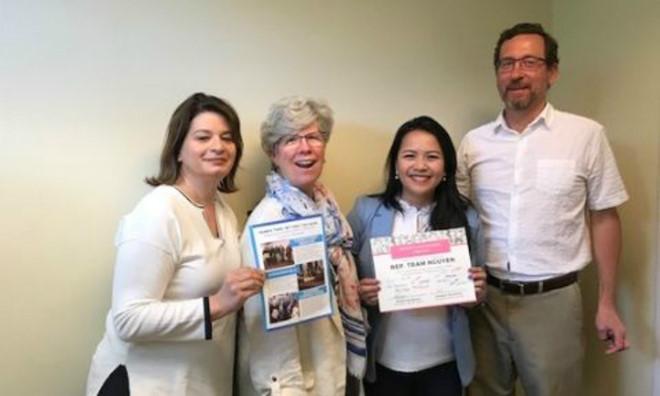 Nữ nghị viên gốc Việt được tôn vinh