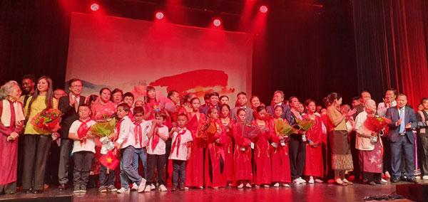 Thứ trưởng Ngoại giao Nguyễn Quốc Cường tham dự Lễ kỷ niệm 100 năm ngày thành lập Hội người Việt Nam tại Pháp