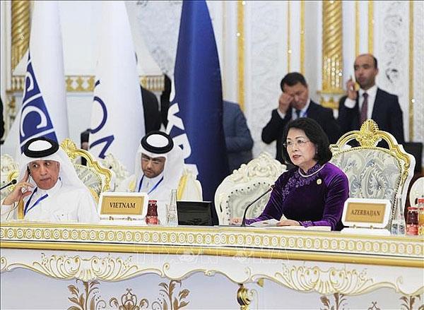 Phó Chủ tịch nước dự Hội nghị thượng đỉnh về xây dựng lòng tin ở châu Á