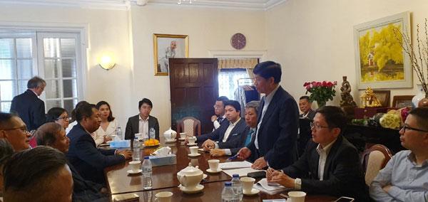 Thứ trưởng Ngoại giao Nguyễn Quốc Cường thăm và làm việc tại Vương quốc Anh