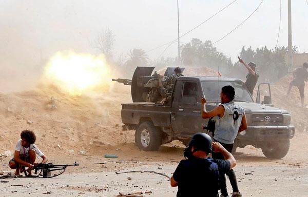 WHO: Số người thiệt mạng do nội chiến Libya lên đến gần 700 người