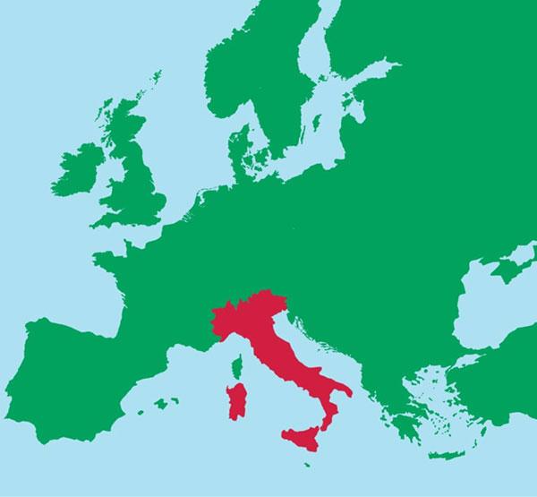 Những quốc gia có hình dạng lãnh thổ đặc biệt