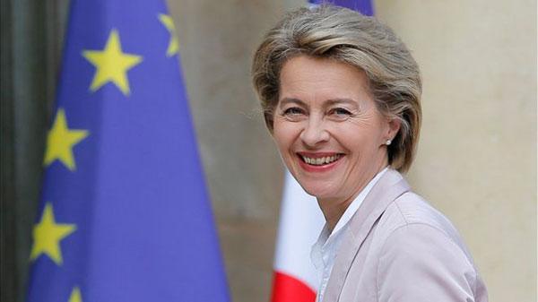 Nữ Bộ trưởng Quốc phòng Đức sẽ là Chủ tịch Uỷ ban châu Âu