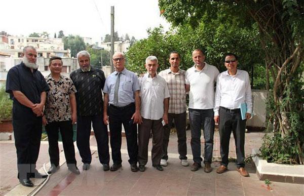 Võ cổ truyền đóng góp vào quan hệ gắn bó Việt Nam-Algeria