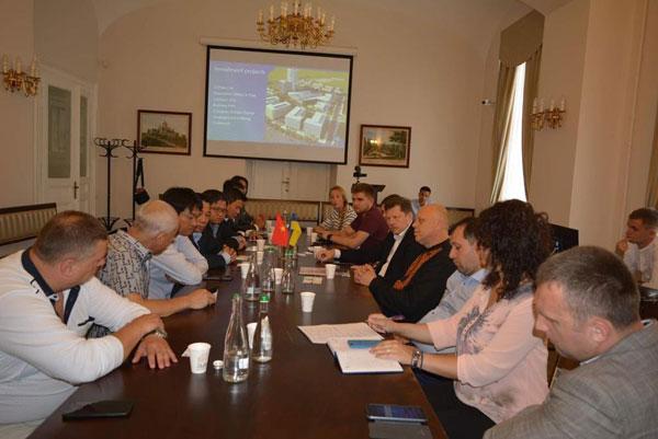 Đoàn doanh nghiệp Đồng Nai và TP Hồ Chí Minh thăm Ucraina