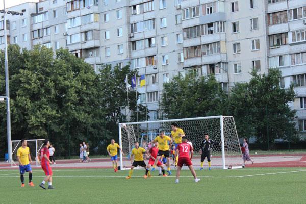 Giao hữu bóng đá cộng đồng tại Kiev, Ucraina