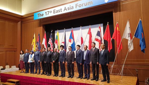 Thứ trưởng Bộ Ngoại giao Nguyễn Quốc Dũng tham dự Diễn đàn Đông Á lần thứ 17