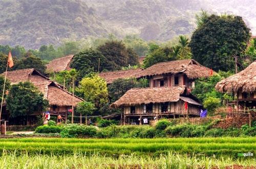 Nhà ở của người Mường Phú Thọ