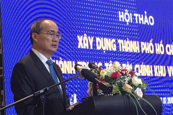 Xây dựng TP HCM thành Trung tâm tài chính khu vực và quốc tế