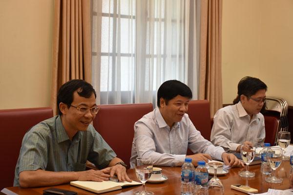 Thứ trưởng Ngoại giao Nguyễn Quốc Cường tiếp Phó Chủ tịch UBTW Mặt trận Tổ quốc VN
