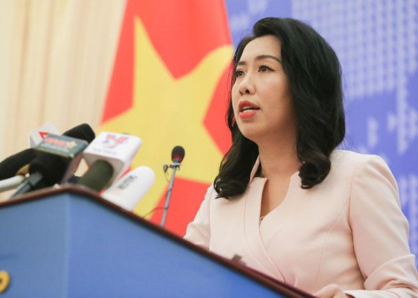 Nhóm tàu Hải Dương 08 dừng hoạt động ở vùng đặc quyền kinh tế Việt Nam
