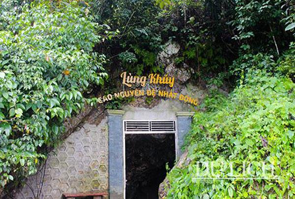 Đến Hà Giang nhớ ghé thăm hang Lùng Khúy