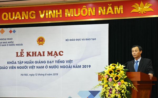 Khai mạc Khóa tập huấn về giảng dạy tiếng Việt cho giáo viên kiều bào