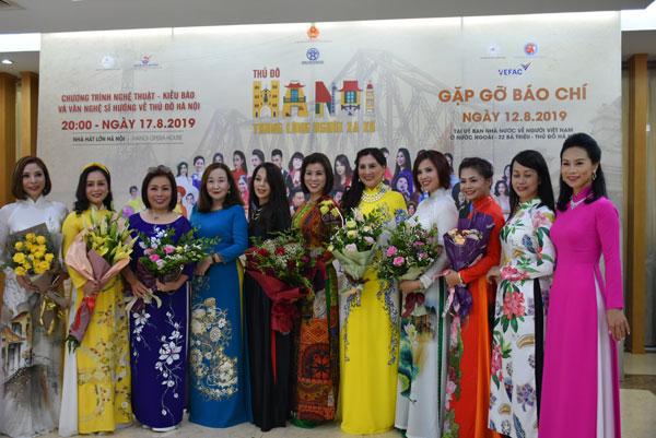 Chương trình nghệ thuật lan tỏa tình yêu kiều bào với thủ đô Hà Nội