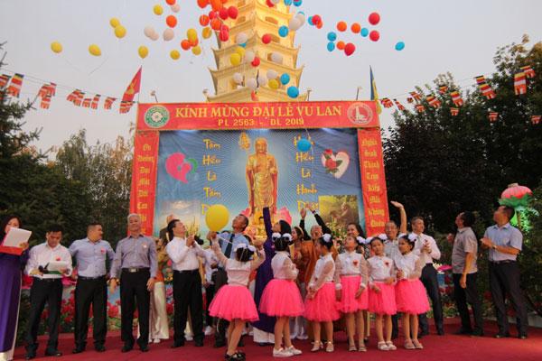 Đại lễ Vu Lan báo hiếu tại chùa Trúc Lâm Kharkov – Ucraina