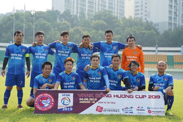 Sôi động giải bóng đá VFAK Đồng Hương Cup 2019 tại xứ sở kim chi