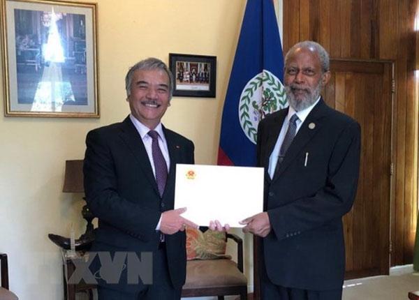 Toàn quyền Belize ấn tượng về những thành tựu nổi bật của Việt Nam