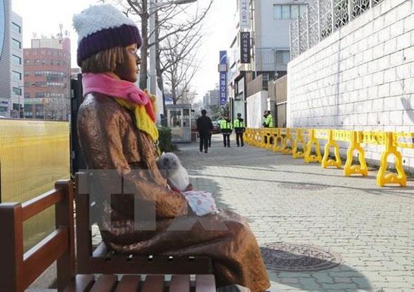 Hàn Quốc tưởng nhớ những phụ nữ bị ép mua vui trong thời chiến