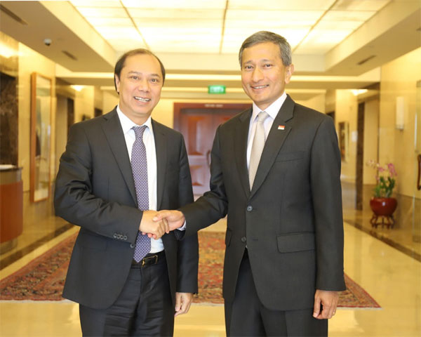 Tham khảo chính trị Việt Nam - Singapore lần thứ 12