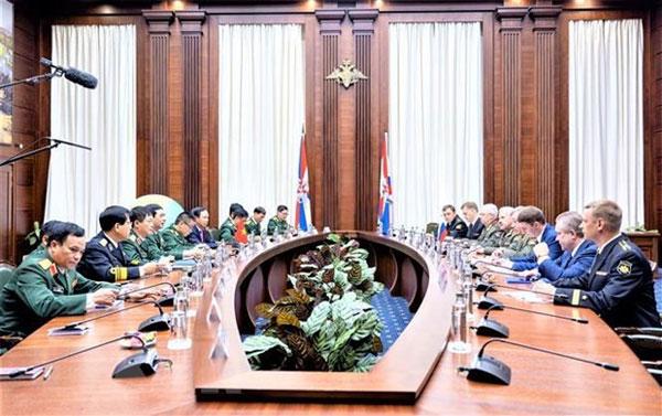 LB Nga và Việt Nam nhất trí tăng cường hợp tác quốc phòng