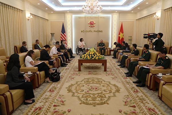 Hoa Kỳ tiếp tục hợp tác với Việt Nam khắc phục hậu quả chiến tranh