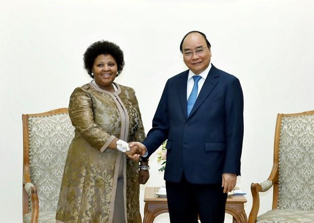 Việt Nam luôn coi trọng phát triển quan hệ hợp tác với Nam Phi