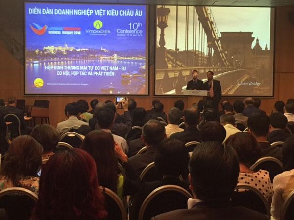 Diễn đàn doanh nghiệp Việt kiều Châu Âu lần thứ 11: Cơ hội mới tập hợp sức mạnh Việt tại Châu Âu
