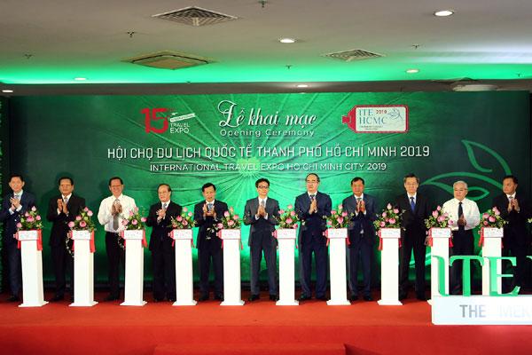 Khai mạc Hội chợ Du lịch quốc tế TPHCM năm 2019