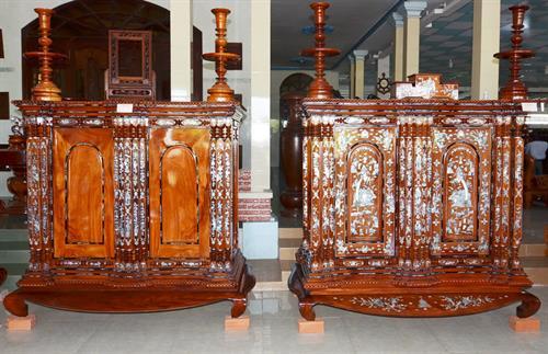 Nghề đóng tủ thờ Gò Công trên đường hội nhập