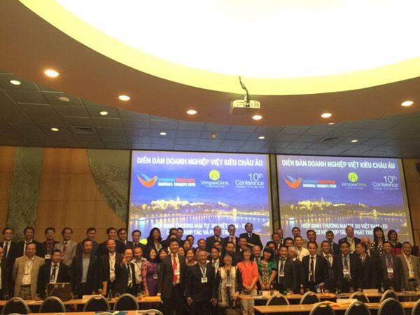 Cơ hội và thách thức  đối với doanh nghiệp Việt kiều tại châu Âu