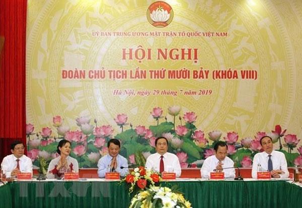 1.300 đại biểu tham dự Đại hội Mặt trận Tổ quốc Việt Nam khóa IX