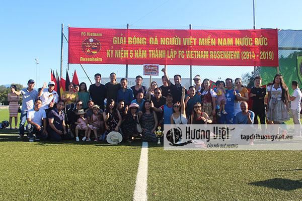 Giải bóng đá cộng đồng người Việt phía nam nước Đức