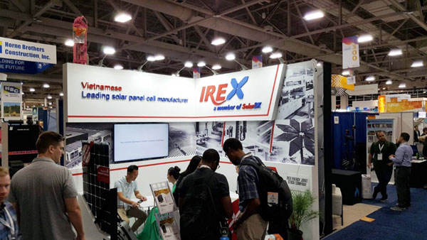 PIN mặt trời IREX tìm lối gia nhập thị trường Mỹ