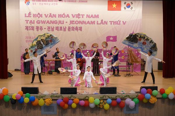Lễ hội văn hóa VN tại Gwangju- Jeonnam: Nơi gặp gỡ, giao lưu của cộng đồng người Việt