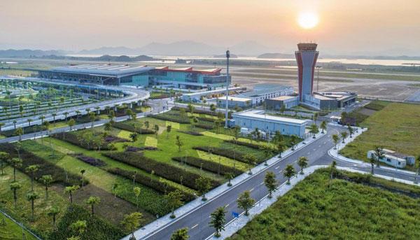 """Cảng Hàng không quốc tế Vân Đồn được trao giải """"Sân bay mới hàng đầu châu Á"""""""