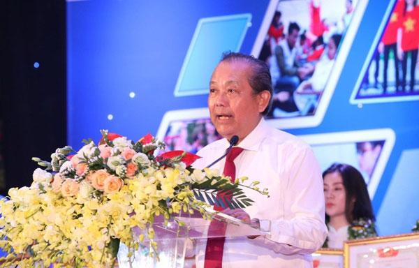 Phó Thủ tướng: Xây dựng lớp thanh niên Việt Nam có bản lĩnh, khát vọng