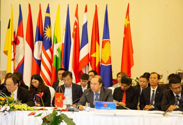 ASEAN-Trung Quốc họp về Thực hiện Tuyên bố về ứng xử của các bên ở Biển Đông lần thứ 18